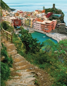 Hiking the<br />Cinque Terre