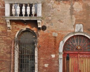 Doorscape, Venice, Italy